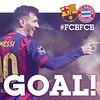 FC BARCELONA VS BAYERN MUNICH (1-0)  GOOOOOOOAAAAAAAAAL!!!  @leomessi  #FCBLive #FCBFCB #UCL