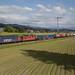 SBB Cargo Re 620 069 Hägendorf + Re 4/4'' 11345 mit UKV-Güterzug