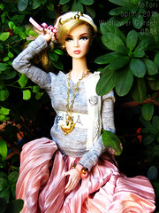 Wildflower Garden (OOAK) - SOLD OUT! Thank you so much!! (KoTori Couture) Tags: doll collection couture kotori fashiondolls