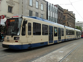 Sheffield Supertram #120