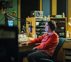 Dave is Spellbound (jbm0) Tags: usa dave radio jerseycity hill 911 nj fm davehill 919 wfmu freeform 901 2015 loudonwainwrightiii wmfu wfmuorg thegoddamndavehillshow