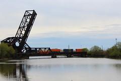 Train (jmaxtours) Tags: usa industry train canal buffalo industrial buffalony railwaybridge westernnewyork eriecanal buffalonewyork