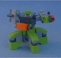 Microfighter (Mantis.King) Tags: lego scifi futuristic mecha mech moc multiped microscale mechaton mfz mf0 mobileframezero