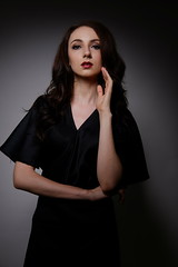 Lana. (Aloysius Alvon) Tags: xf35 xt1 fujifilm studio indonesia strobist model