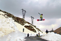 p***y road gap (I'N,I) Tags: street snow color girl sport spring freestyle ride gap ini riding snowboard session tamron bergamo bianco bg sanmarco pigna passo elisabetta pigno roard