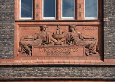 Thompson-Yates Laboratories (.annajane) Tags: uk england sculpture liverpool university relief pathology merseyside physiology universityofliverpool cjallen thompsonyateslaboratories