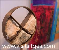 Mirando al Sur - Sala d'Art Nicolás (Sitges - Visit Sitges) Tags: al sala escultura sur carmen dart artur pintura mirando nicolás duch reciclart