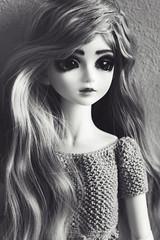 Lillian (hadley_midge) Tags: beauty kids doll dolls 14 crochet collection wig wigs lillian mystic resign
