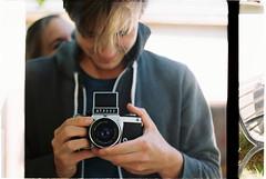 (? Uh..) Tags: film analog 35mm 50mm 135 analogphotography exakta celluloid vx1000 pancolar filmisnotdead celluloidrocks