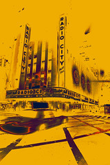 Radio city Music Hall, New York (Cranamanor13) Tags: city usa newyork america radio theatre manhattan cab taxi radiocity andrewwilson