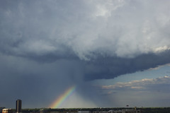 (Carli Vgel) Tags: city travel sky storm nature weather clouds skyscape magic rainbows carlivgel
