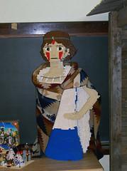 OH Bellaire - Toy & Plastic Brick Museum 100 (scottamus) Tags: ohio sculpture statue lego display exhibit roadside bellaire attraction belmontcounty toyplasticbrickmuseum