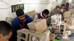 Zellij Makers (macloo) Tags: geometric tile morocco fez artisan fes zellij