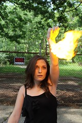 (krustgals) Tags: portrait abandoned girl forest fire scary magic spooky dirt spook4u