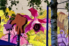 Berlin 2015 - 262 Maybachufer Trkenmarkt (paspog) Tags: berlin maybachufer trkenmarkt allemagne deutschland germany fresque fresques graffitis tags mural murals