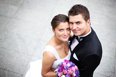 Wedding couple (VargasPhotography) Tags: wedding two portrait people woman man male love girl beautiful smile face female outdoors happy groom bride couple day close dress young handsome marriage happiness romance suit together romantic bouquet brunette inlove happily