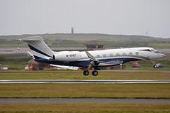 M-SHEF Gulfstream G650 EGNS 6/7/16 (David K- IOM Pics) Tags: m manx reg register business jet gulfstream g650 egns isleofman iom ronaldsway airport mshef