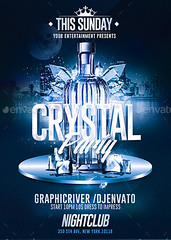 Crystal Bottle Party   Psd Flyer Template (Rome Creation) Tags: anniversary banner beauty birthday blue bottle bottles celebration chic city classy clean club crystal dj drink drinks easy effects elegant event fashion flyer flyers friday girls glam glamour glass glitter gold ice ladies light lingerie lips luxury metal minimal models music night nightclub nye party