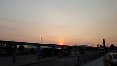 Red Sun at Night, California is Burning (again) (Mandell2) Tags: sun smog