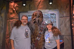 """Tracey, Scott and Chewbacca • <a style=""""font-size:0.8em;"""" href=""""http://www.flickr.com/photos/28558260@N04/28608830844/"""" target=""""_blank"""">View on Flickr</a>"""