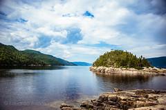 Fjord du Saguenay (Duda Arraes) Tags: qubec canada petitsaguenay parc national du fjorddusaguenay water river bluesky clouds nature landscape