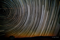 Perseid Meteor Shower 2016 (morrobayrich) Tags: perseidmeteors 2016 startrails stacking polaris
