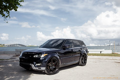 Range Rover Sport HSE on CW-6 Gloss Black (Concavo Wheels) Tags: concavo concavowheels teamconcavo concavenation cw6 wheels rims cars range rangerover sport hse landrover rover miami florida usa