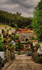 Mioño, Cantabria (Jostography) Tags: street color green canon eos calle village jose pueblo natura paseo villa hdr cantabria norte facebook diez mioño 100d jostography
