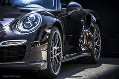 991 Turbo (Nash FRosso) Tags: black sport puerto negro 911 turbo coche porsche nero supercar marbella 991 banus sporcar swarthz