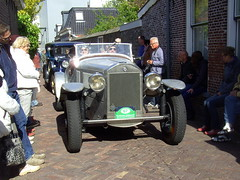 1929 Lancia DiLambda (Davydutchy) Tags: auto people holland classic netherlands car automobile tour rally crowd may nederland cities voiture massa finish vehicle oldtimer eleven friesland rallye lancia mensen klassiker 2015 fryslân sleat elfstedentocht veterán sloten menigte automobiel dilambda