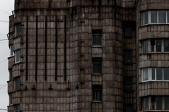 dredd (andrzej91) Tags: street city brown abstract texture saint st architecture dark grey nikon mood russia sigma overcast petersburg brutalism dredd andrzej 18200mm d90 cahlenstein andrzej91