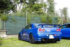 R34 (Ste Bozzy) Tags: italy car japan skyline speed japanese italia day nissan jdm gtr monza 2014 r34 nissanskyline vspec nissangtr nissanr34 autodromodimonza nissanskylinegtr nissanskyliner34 worldcars speedday nissanskylinegtrr34 19bozzy92