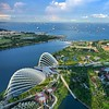 #Marina #bay #sands #singapore #hot #weather
