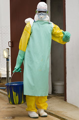 Ebola Healthcare Worker (Will Margett Photography) Tags: sierraleone africa ebola healthcare worker ppe topv1111