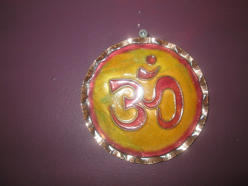 The OM (AUM) symbol, From FlickrPhotos