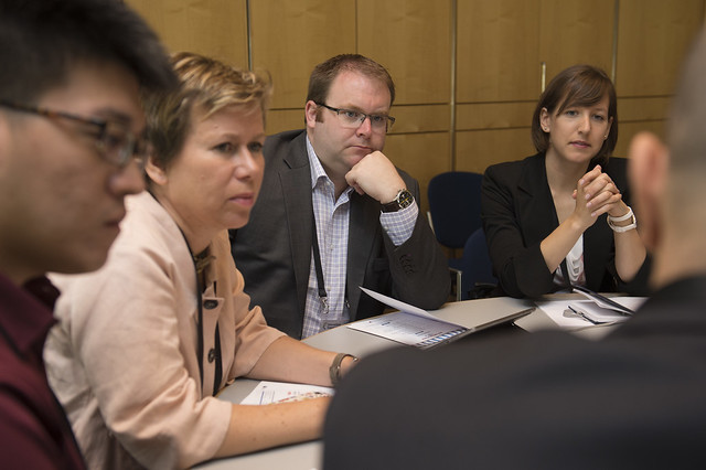 Attendees listening during the ITF Summit Masterclass