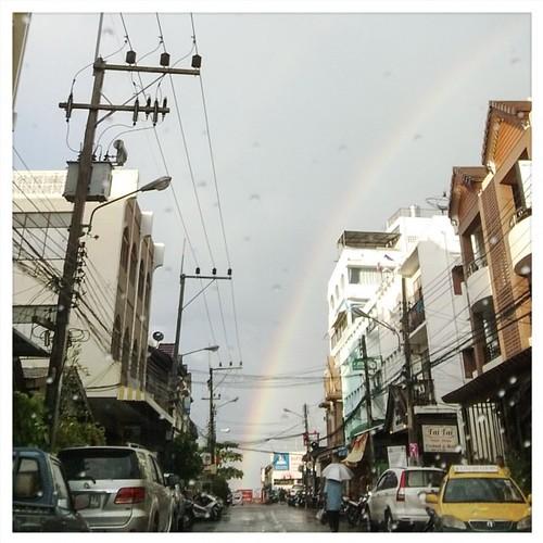 :) #rainbow #huahin #thailand