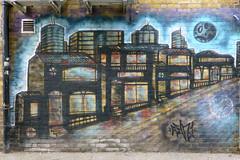 Wall art in Southend. (piktaker) Tags: streetart graffiti wallart spray essex southend southendonsea