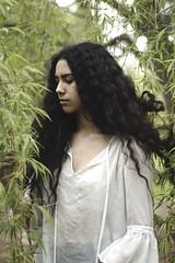IMG_9726 (aishejonelle) Tags: trees flower tree nature girl female hair outdoors long child outdoor portait fresh curly preraphaelite