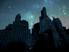 Manhattan Blackout (baxter.ad) Tags: life park new york people usa streets architecture buildings stars manhattan central galaxy etc blackout