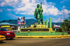 A statue for Benito Juarez in Oaxaca.