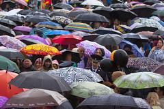День Победы в Сыктывкаре под дождём