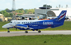 G-MAJH Bae Jetstream 41 of Eastern Airways at RAF Coningsby (David Russell UK) Tags: england airplane force aircraft air royal aeroplane lincolnshire jetstream vehicle commuter british airways bae eastern regional raf airliner turboprop 41 aerospace coningsby cgy gmajh