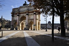 "The ""Other"" Arc de Triomphe (AntyDiluvian) Tags: trip paris france museum arch pyramid louvre arcdetriomphe carrousel 2015 arcdetriompheducarrousel"