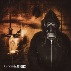 If It Ends Tomorrow.  If It Begins. (Ghost Of Nations Photography And Digital Art) Tags: portrait selfportrait dark scary gloomy cross mask gothic gas creepy spooky gasmask neogothic liminal newgothic ghostofnations ghostofnationsphotography