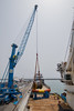 New crane wire reel lifting operation (SPMac) Tags: new wire deck ghana forza service operation rem slings ssv quayside supply reel lifting maersk takoradi strops