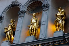 Three graces. (davidpompel) Tags: newyork canon threegraces statuary