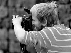 Lack of nasal space... (Zdenko Zivkovic) Tags: zeiss nose nikon friend photographer tight manualfocus johan gustavsson ulvaklev