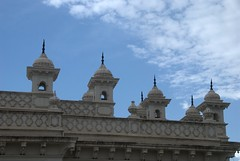 Small minarets (VinayakH) Tags: india gardens royal palace hyderabad royalpalace nizam telangana chowmahallapalace