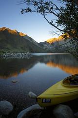 CCC Morning (todaniell) Tags: canon 6d convictlake sjs61 yosemite todaniell odaniell cloudless water lake kayak morninglight sunrise mammothlake inyocounty